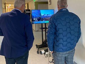 Fietslabyrint geschonken aan Franciscus Oncologiecentrum