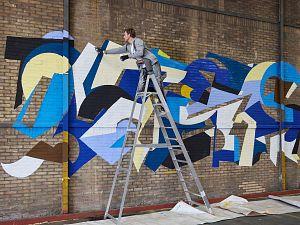 Post-graffiti-makers kunnen werk achterlaten in glasfabriek