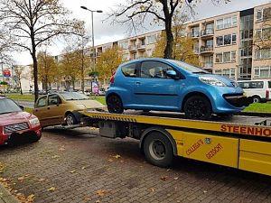 Defecte en niet gebruikte voertuigen weggehaald