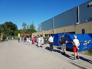 Nergens in Rijnmond meer prikken dan in Groenoordhal