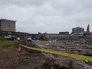 Asbest in sloopwoningen Buurttuin