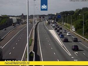 A20 gestremd bij Schiedam-Noord