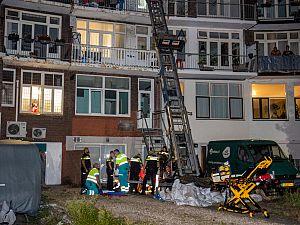 Man gewond na vermoedelijke val van verhuislift