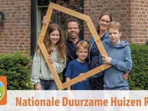 Schiedam doet mee aan de Nationale Duurzame Huizen Route