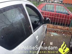 Zeventien procent meer autokraken in Schiedam