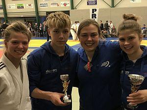 Judoka's Judo Zutphen succesvol op toernooi Slagharen