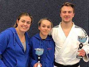 Goudoogst voor judoka's Judo Zutphen in Beuningen