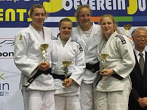 Anne Kerkhoven bij rentree op de judomat meteen kampioen