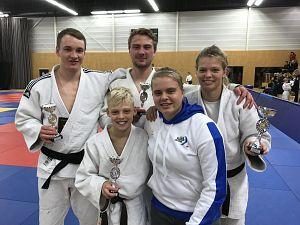 3x goud in Dalfsen voor Judo Zutphen