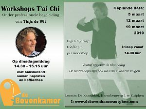 Workshops T'ai Ch