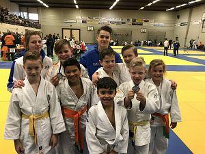 Succes voor jeugd Judo Zutphen
