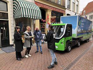 Zutphense wethouder De Jonge stuurt op zero-emissie stadsdistributie