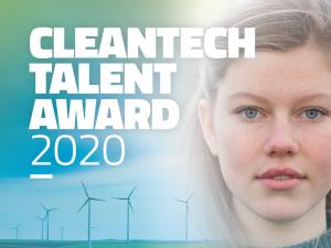 Finalisten Cleantech Talent Award 2020 bekend