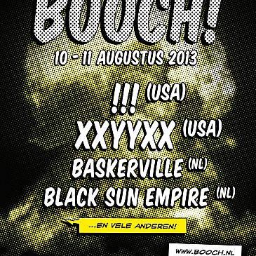 Het einde van het Booch! festival