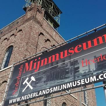 Nieuwe banner voor Mijnmuseum