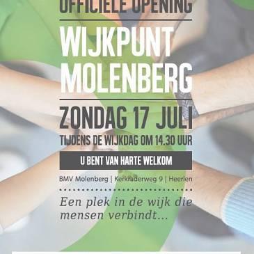 Zondag opening wijkpunt Molenberg