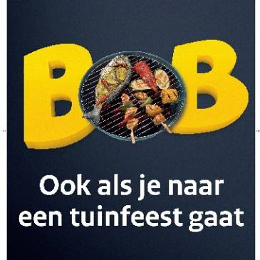 BOB, ook als je naar een feest gaat
