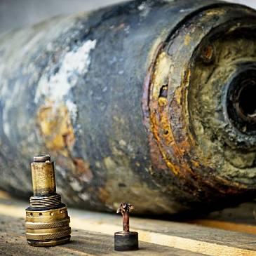 Zware bom in Aken gevonden