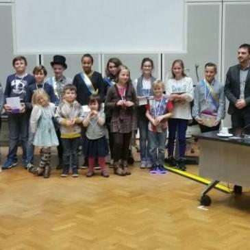 Wethouder Jordy Clemens installeert kindercollege