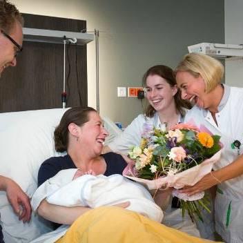 Duizendste baby in Geboortecentrum