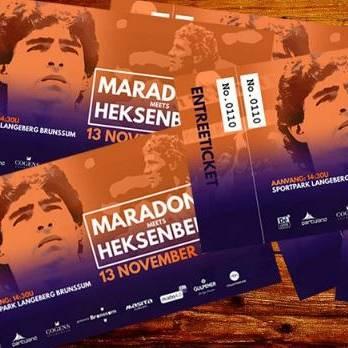 Alles over Maradona, die niet naar Heerlen kwam