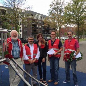 PvdA Maassluis bezoekt Componistenwijk