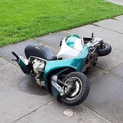 Gestolen scooter teruggevonden