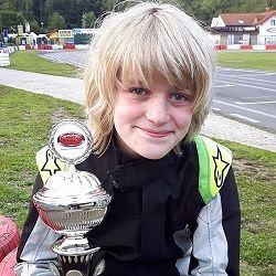 Maassluis karttalent op podium in Duitsland