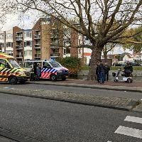 Automobilist rijdt door na botsing met scootmobiel