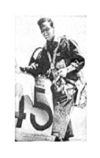 Plaquette ter herinnering aan piloot Smith