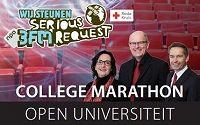 Open collegemarathon bij SCHUNCK*