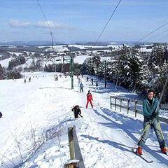 Skiseizoen begonnen in de Ardennen
