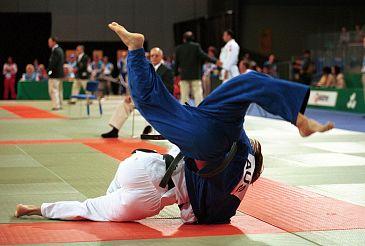 Warnsveldse de mat op tijdens WK judo