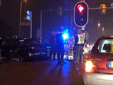 Ongeluk op Den Elterweg leidt tot opstopping