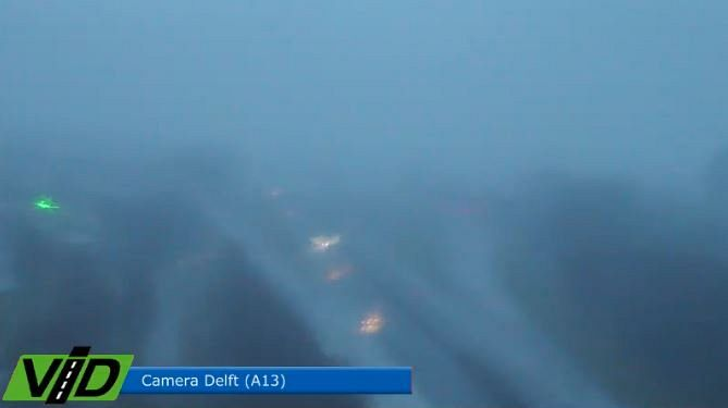 A13 dicht na ongeval