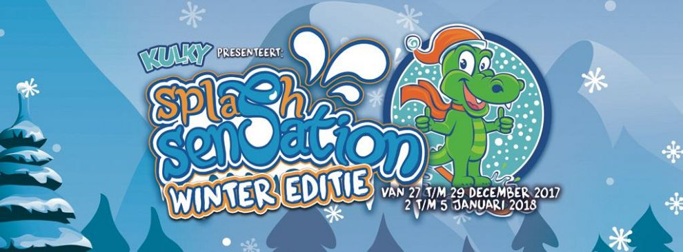 Splash Sensation Wintereditie in De Kulk