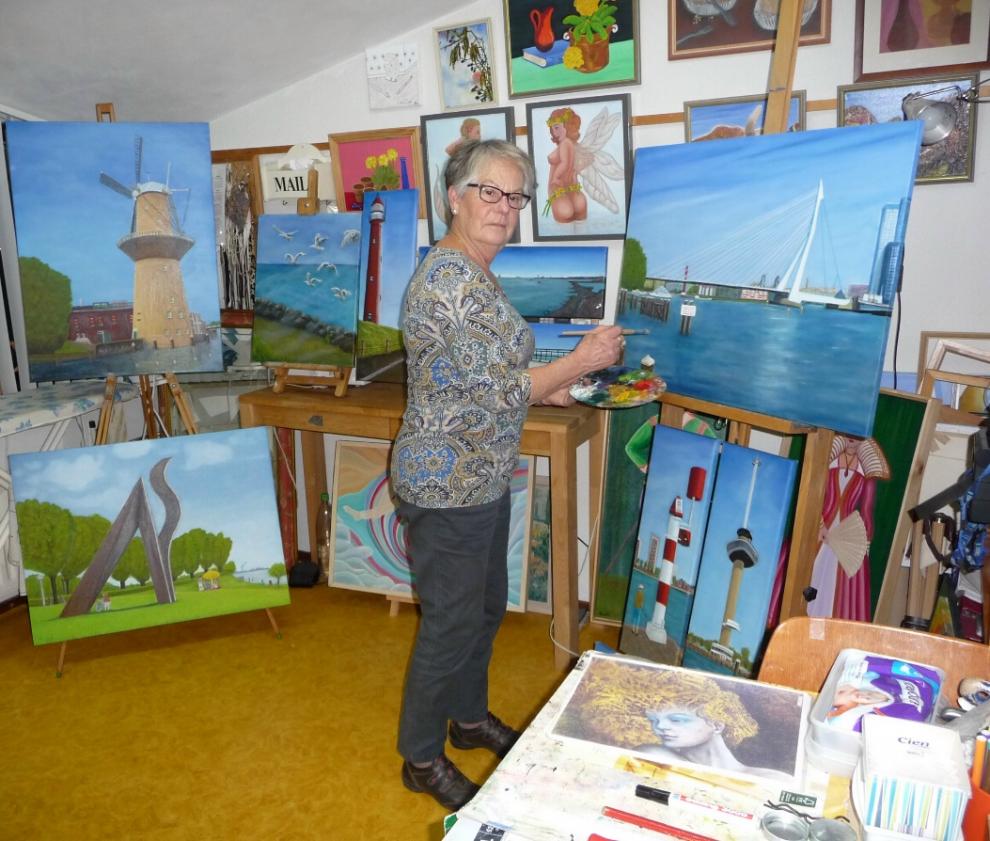 Ria van Teffelen exposeert in de Groene Luiken
