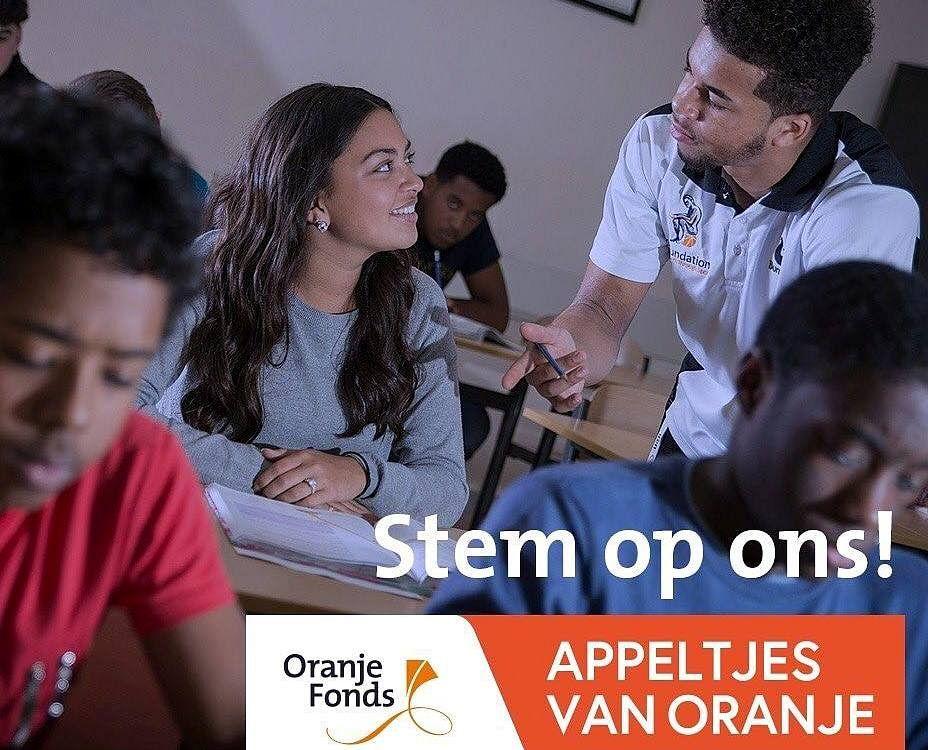YETS Foundation maakt kans op 'Appeltje van Oranje'
