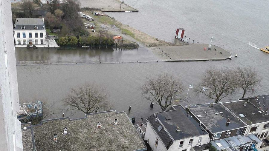 2 februari wederom hoogwater verwacht