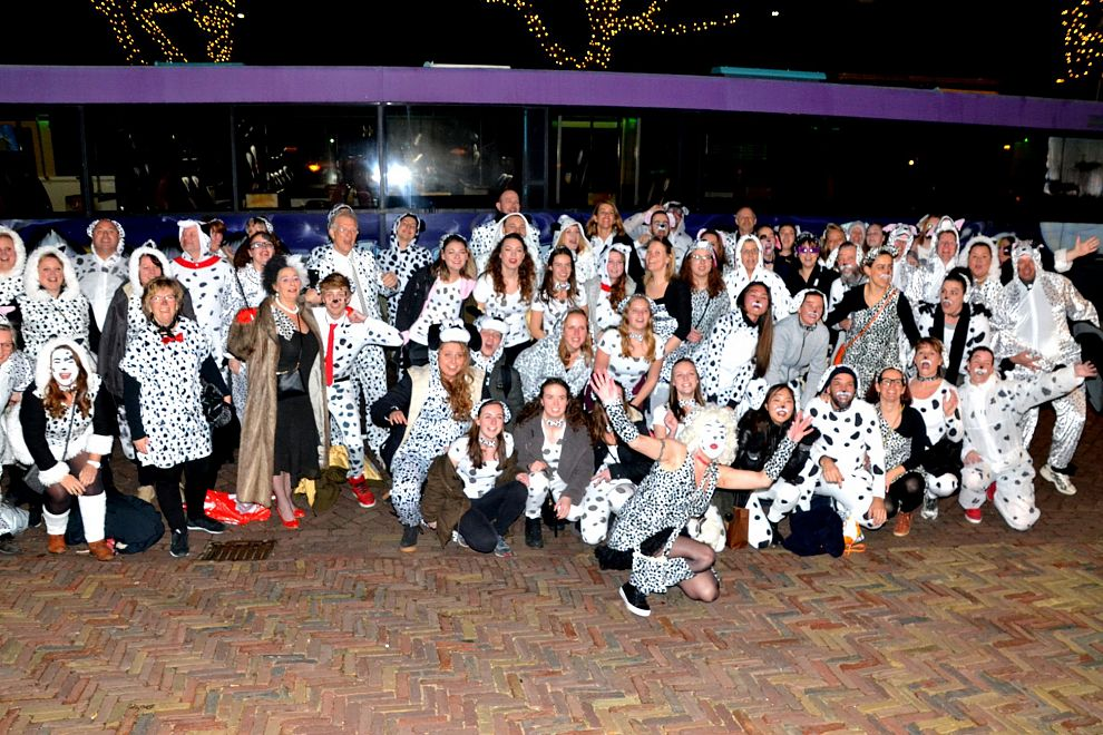 Vlaardingse carnavalsgangers veroveren Brabant