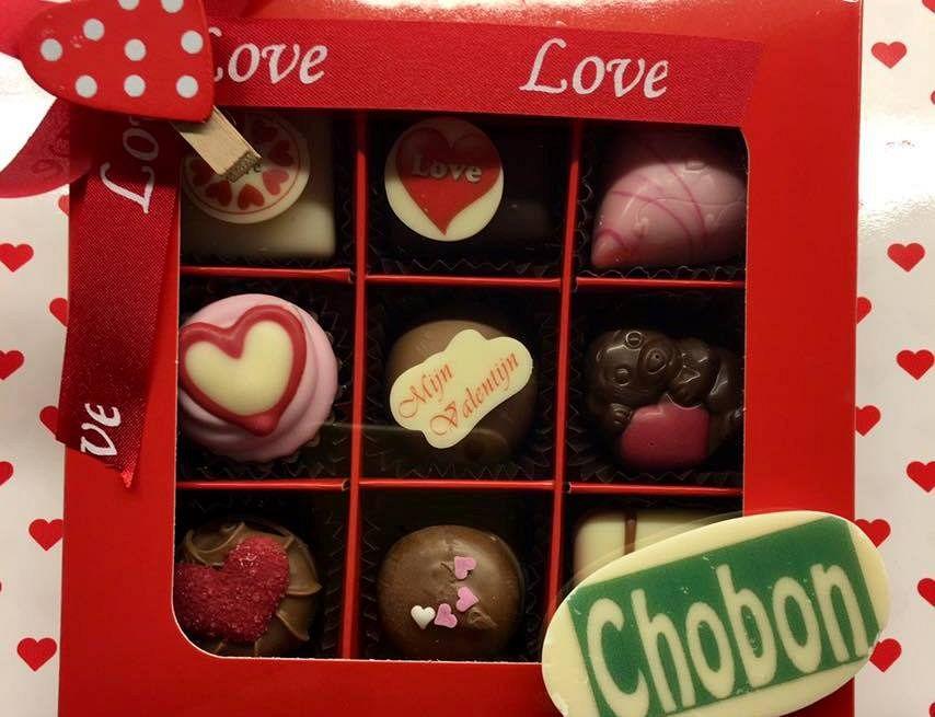 Chobon in Valentijnssfeer!