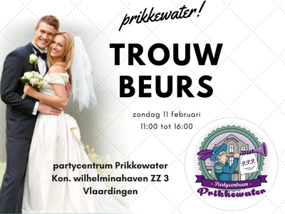 Trouwbeurs in Prikkewater