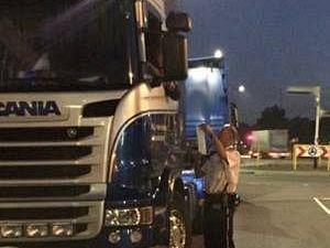Illegaal overnachtende chauffeurs beboet