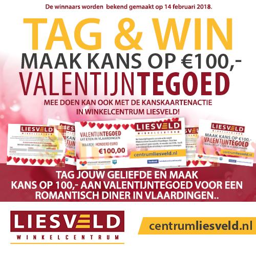 Valentijnsactie Liesveldwinkeliers