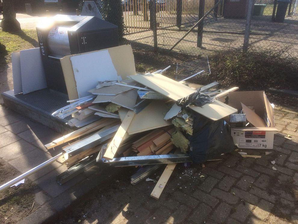 VFC zoekt vuilnisvandalen