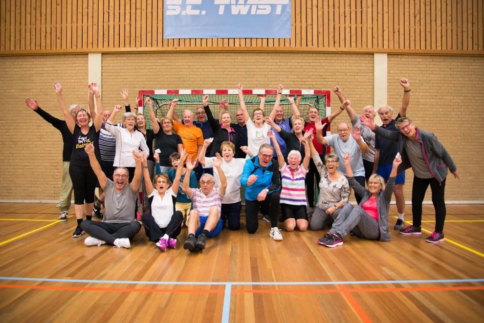 Record aantal deelnemers bij Sportinstuif