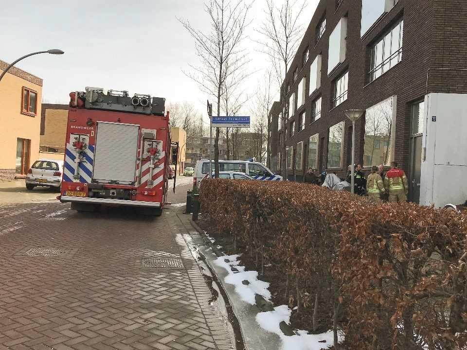 Brandweer druk met gesprongen waterleidingen