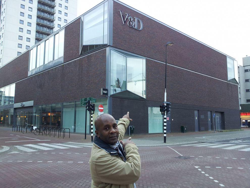 V&D gebouw moet 'shopping mall' worden