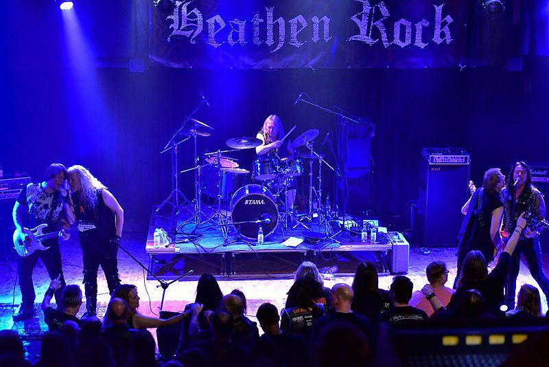 Nederlands eerste heavymetalband bij Omroep Vlaardingen