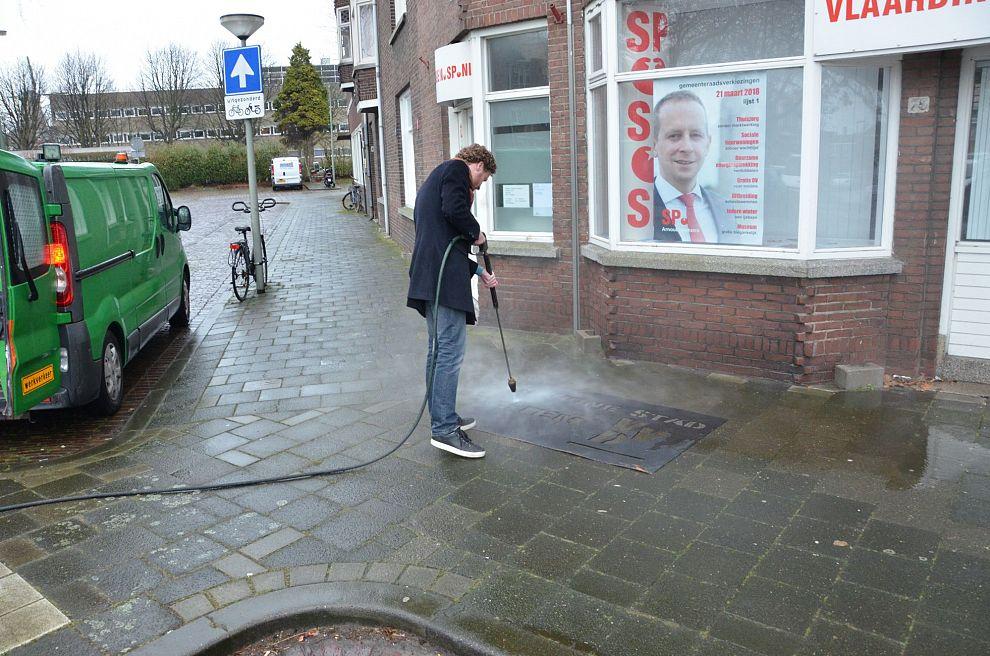 Vlaardingse VVD maakt werk van schone straten